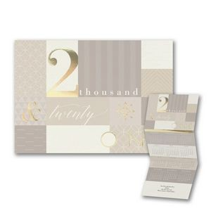 Patterned Accents 2021 Calendar Card
