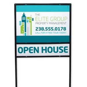Full Color Aluminum Composite Metal Yard Sign (18