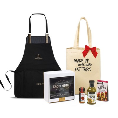 Taco Tuesday Night Gift Set - Natural-Black