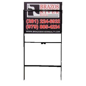 Metal Slip-In Sign Frame